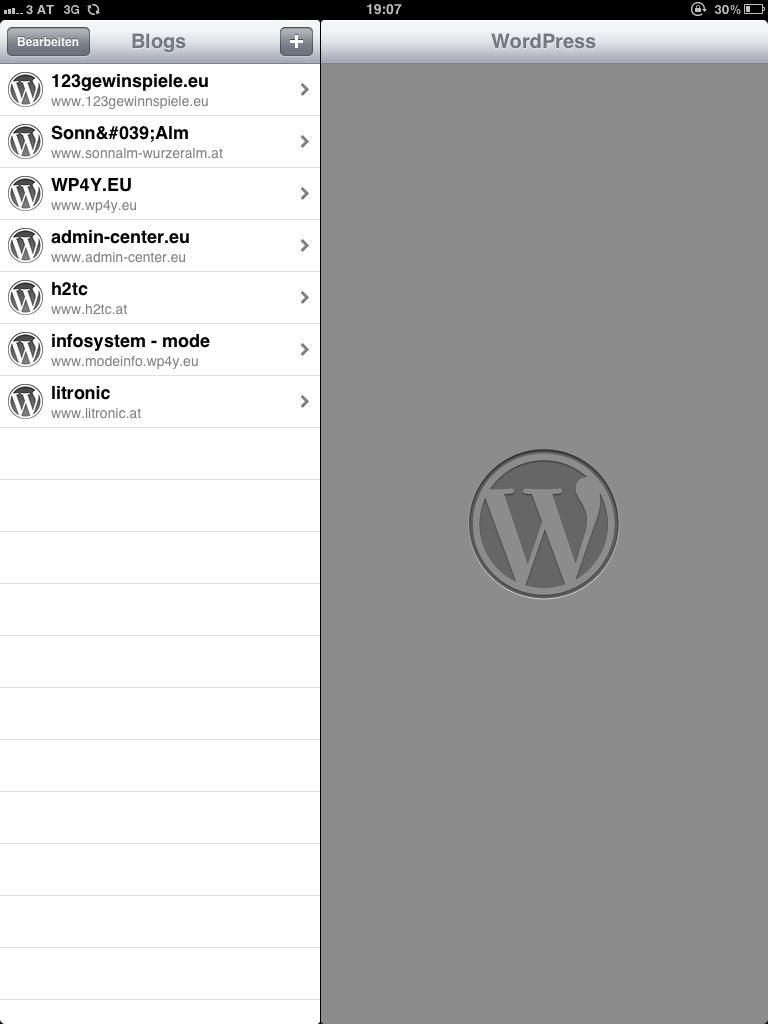 WordPress am iPad 001 admin-center (1)