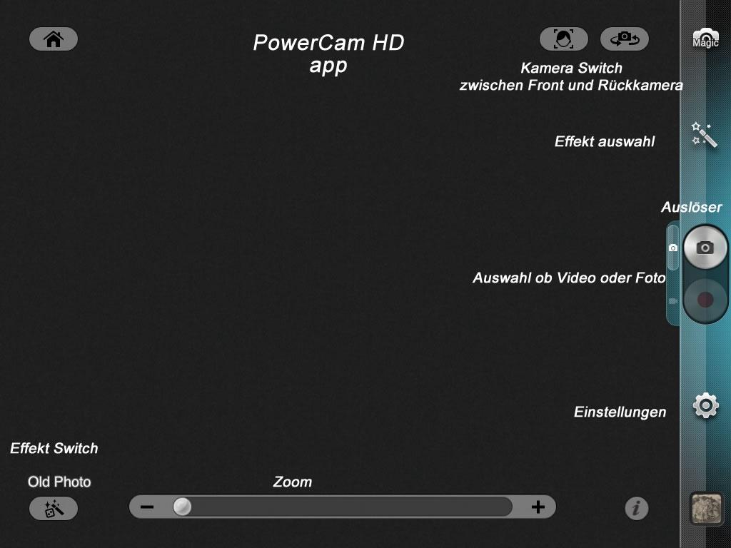 artikelbild effekte mit PowerCam HD