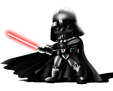 Darth Vader of Star Wars Chibi