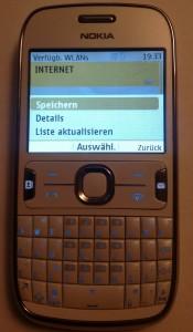 Nokia Asha 302 MAC Adresse Auslesen (2)