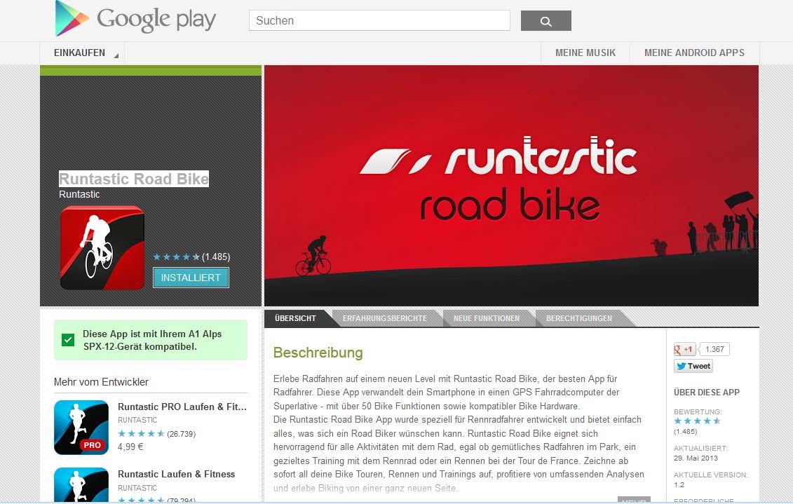 runtastic App tipp - Strametz Wolfgang