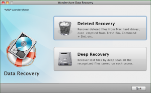 Download Wondershare Data Recovery for Mac