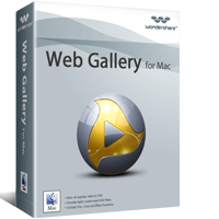 Download Wondershare Web Gallery for Mac (1)