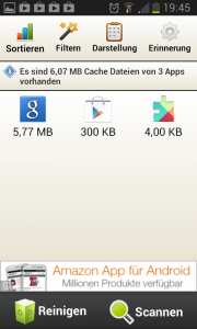 Easy Cache Cleaner App