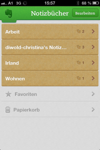 Evernote - Christina Diwold