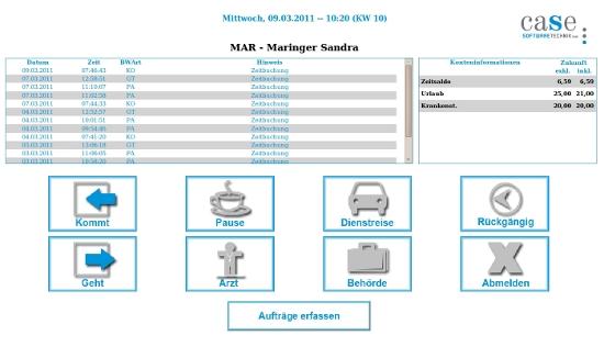 Download Case Time Zeiterfassung