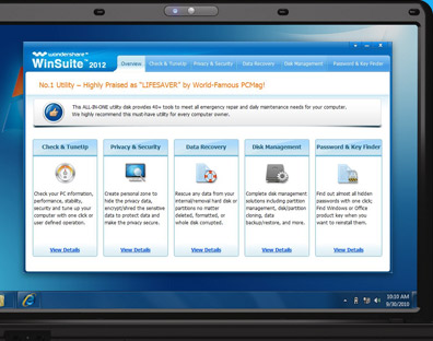 Download Wondershare WinSuite 2012