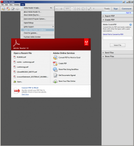 adobe Reader reparieren