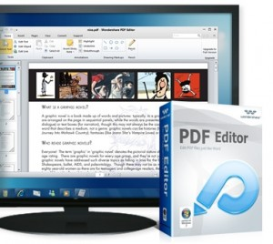 download wondershare Pdf Editor for Windows