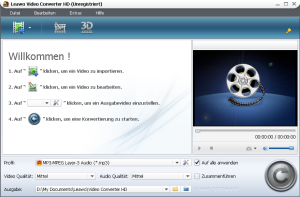 Download Leawo video converter