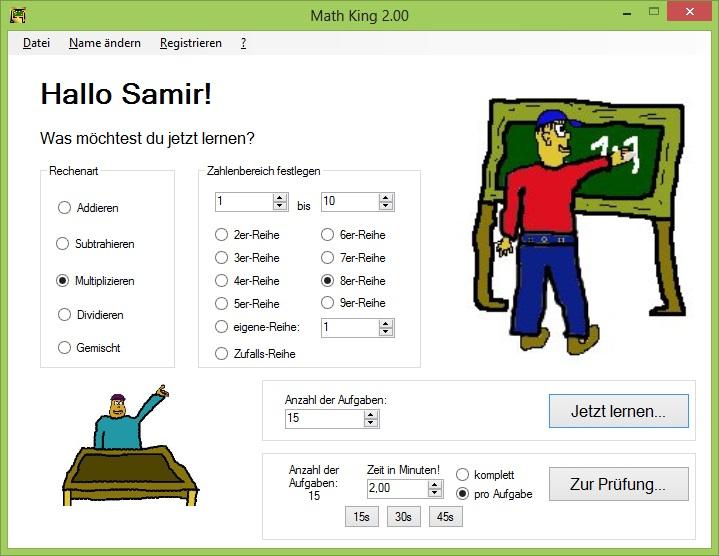Download Mathe King
