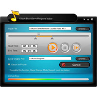 Download Xilisoft Blackberry Ringtone Maker (2)