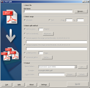 A-PDF-Splitter