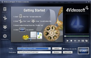 Download 4Video Soft Apple TV Video Converter