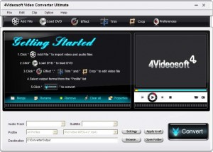 Download 4Video Soft Video Converter Ultimate (2)