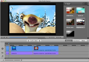 Download Aimersoft Video Studio Express for Mac (2)