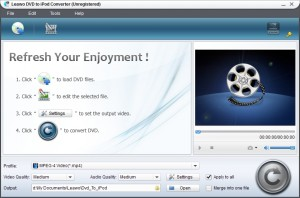 Download Leawo DVD to iPod Converter (2)