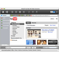 Download Xilisoft YouTube HD Video Converter for Mac (2)