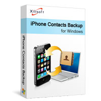 Download Xilisoft iPhone Contacts Backup (2)