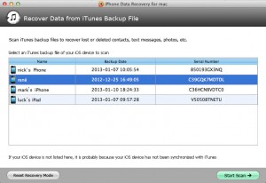 Download iPhone 4S Data Recovery for Mac