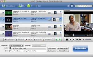 Download AnyMP4 Video Converter Platinum for Mac